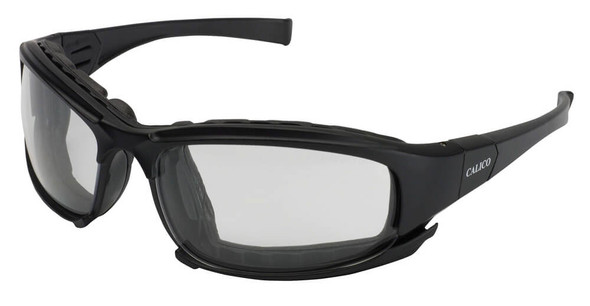 KleenGuard Calico Foam-Padded Safety Glasses with Clear Anti-Fog Lens 25672