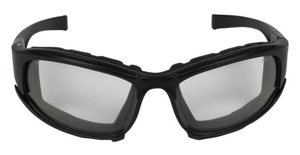 KleenGuard Calico Foam-Padded Safety Glasses with Clear Anti-Fog Lens - Front View
