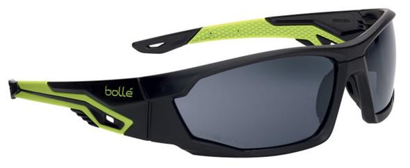 Bolle Mercuro Safety Glasses with Smoke Platinum Anti-Fog Lens