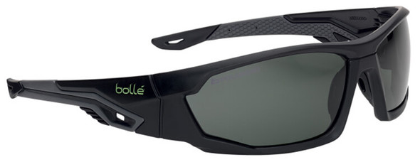 Bolle Mercuro Safety Glasses with Polarized Smoke Lens