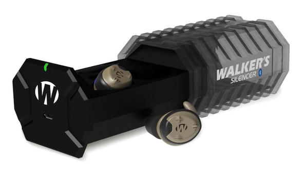 Walker's Silencer Bluetooth Electronic Earbuds Rechargeable - Case