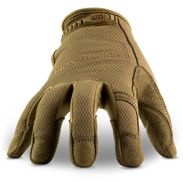 HexArmor Hex1 2132 Synthetic Leather Work Gloves - Front View