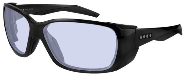 EnChroma Summit Color Blind Safety Glasses with Cx1 Indoor DT Lens Cx1-DT-SUM-BK-PL