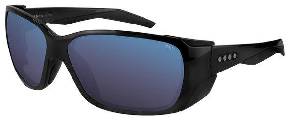 EnChroma Summit Color Blind Safety Glasses with Cx3 Outdoor Sun Lens Cx3-SN-SUM-BK-PL