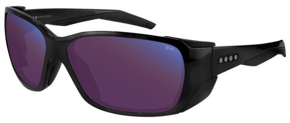 EnChroma Summit Color Blind Safety Glasses with Cx3 Outdoor Sun SP Lens Cx3-PT-SUM-BK-PL