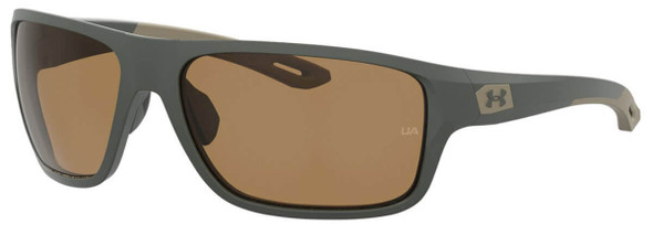 Under Armour Battle Sunglasses with Baroque Frame and Brown Polarized Lens UA0004S-1ED-6A
