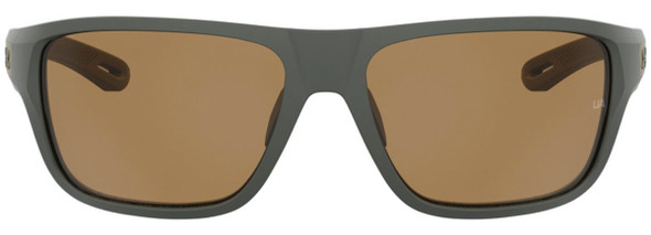 Under Armour Battle Sunglasses with Baroque Frame and Brown Polarized Lens UA0004S-1ED-6A - Front View