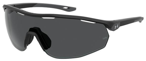 Under Armour Gametime Sunglasses with Black Frame and Grey Lens UA0003GS-003-KA