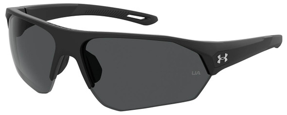 Under Armour Playmaker Sunglasses with Black Frame and Grey Lens UA0001GS-003-KA