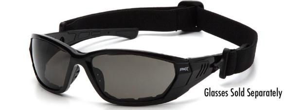 Pyramex Atrex Restraining Strap 108STRAP - Sample Shown on Atrex Safety Glasses (Glasses Sold Separately)