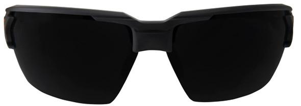 Edge Pumori Safety Glasses with Matte Black Frame and Smoke Vapor Shield Lens XP416VS - Front View