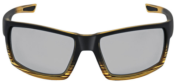 Bullhead Sawfish Safety Glasses with Tortoise Frame and Photochromic Polarized Anti-Fog Lens BH26718PFT - Front View