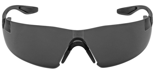 Bullhead Discus Safety Glasses with Smoke Anti-Fog Lens BH2833AF - Front View