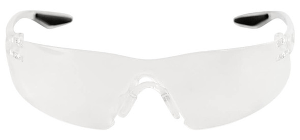 Bullhead Discus Safety Glasses with Indoor-Outdoor Lens BH2816 - Front View