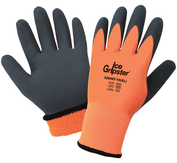 Global Glove 380INT Ice Gripster High-Visibility Water-Resistant Gloves GG-380INT