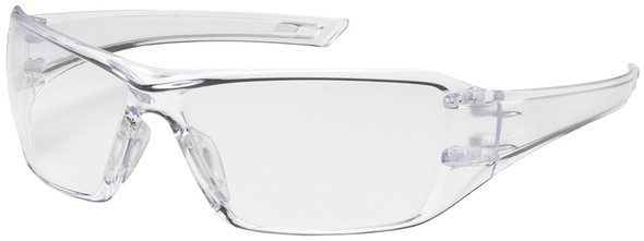 Bouton Captain Safety Glasses with Clear Temple and Clear Anti-Reflective Lens 250-46-0010