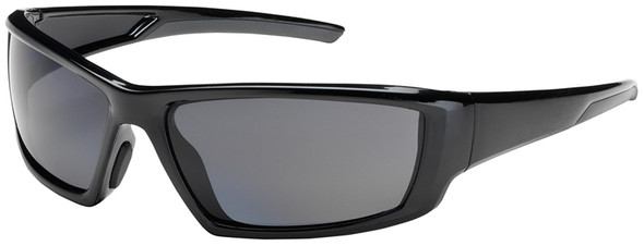 Bouton Sunburst Safety Sunglasses with Black Frame and Polarized Gray Lens