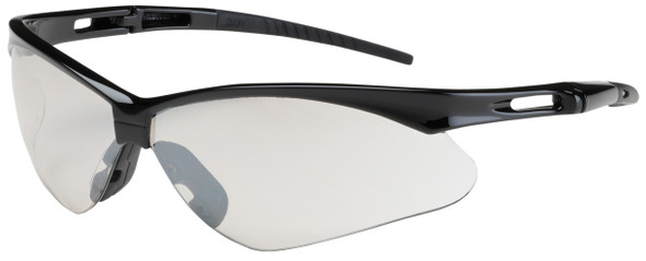 Bouton Anser Safety Glasses with Black Frame and Indoor/Outdoor Lens