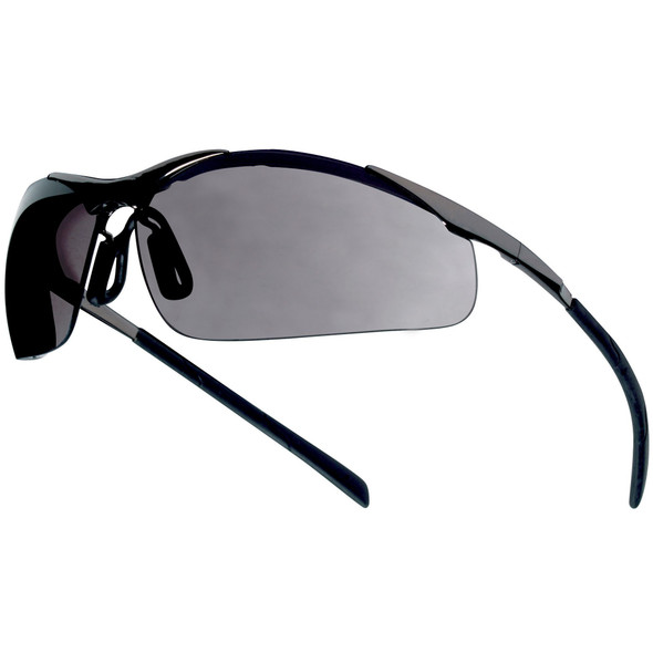 Bolle Contour Metal Safety Glasses Smoke Anti-Fog Lens