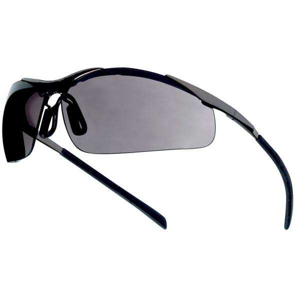 Bolle Contour Metal Safety Glasses Smoke Anti-Fog Lens