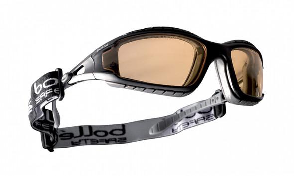 Bolle Tracker Safety Glasses Black Frame Twilight Anti-Fog Lenses 40088