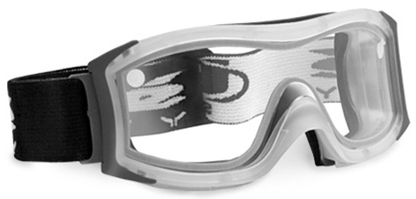 Bolle Duo Safety Goggle with Frosted Frame and Clear Double Lens