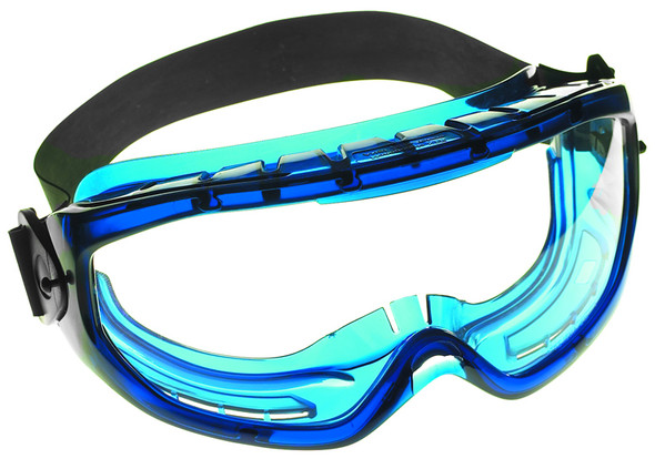 Jackson Monogoggle XTR Blue Frame Clear Anti-Fog Lens 18624