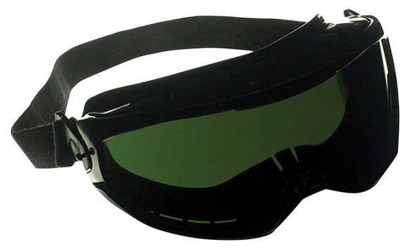 KleenGuard Monogoggle XTR with Black Frame and Shade 5 Anti-Fog Lens