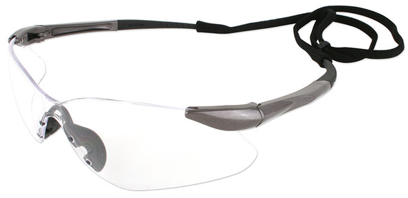 Jackson Nemesis VL Safety Glasses with Clear Lens 20470