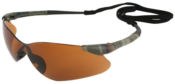 KleenGuard Nemesis VL Safety Glasses with Bronze Lens