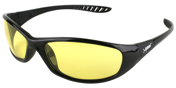 KleenGuard Hellraiser Safety Glasses with Amber Lens