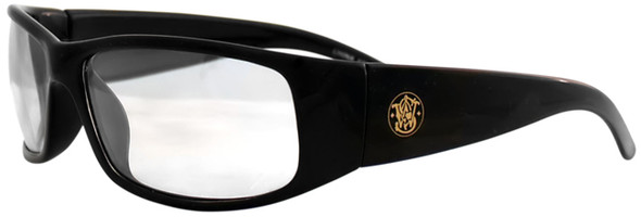 Smith & Wesson Elite Safety Glasses Clear Anti-Fog Lens 21302 Side View