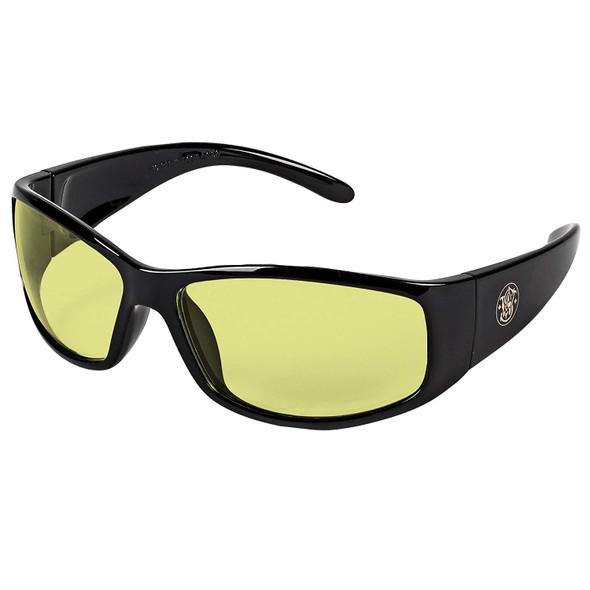 Smith & Wesson Elite Safety Glasses Amber Anti-Fog Lens 21305