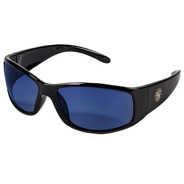 Smith & Wesson Elite Safety Glasses with Blue Mirror Lens 21307