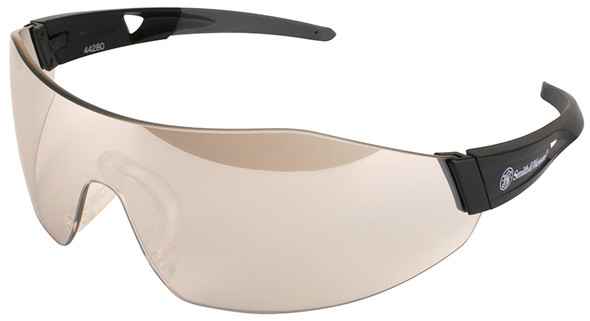 Smith & Wesson 44-Magnum Safety Glasses with Black Temples and Indoor/Outdoor Anti-Fog Lens