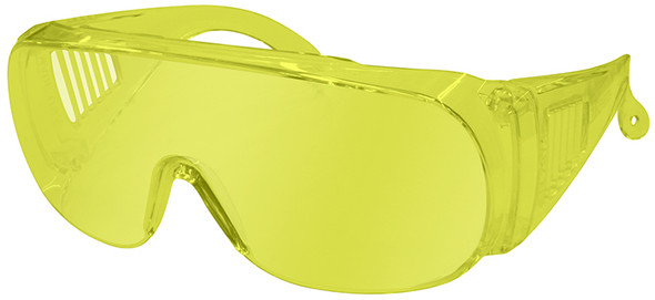 Radians Chief Overspec Safety Glasses with Amber Lens 360-A