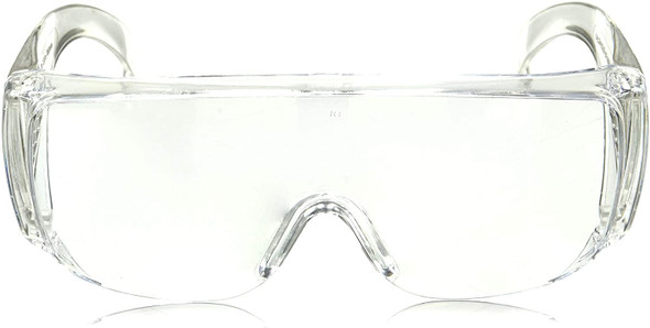 Radians Chief OTG Safety Glasses 360-C Front View