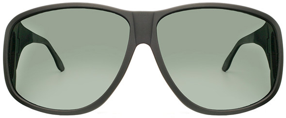 Haven Banyan OTG Sunglasses with Black Frame and Gray Polarized Lens - Front