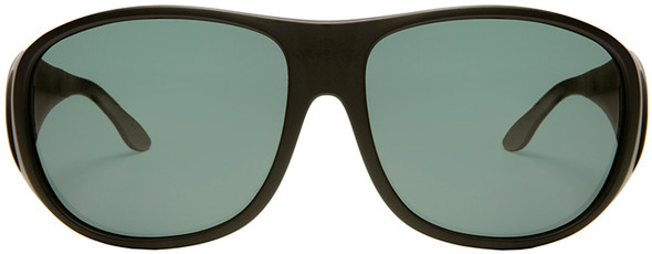 Haven Summerwood OTG Sunglasses with Black Frame and Gray Polarized Lens - Front