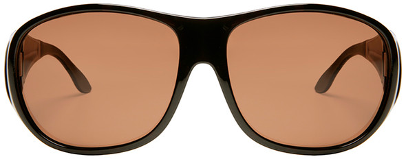 Haven Summerwood OTG Sunglasses with Tortoise Frame and Amber Polarized Lens - Front
