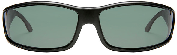 Haven Hunter OTG Sunglasses with Black Frame and Gray Polarized Lens - Front