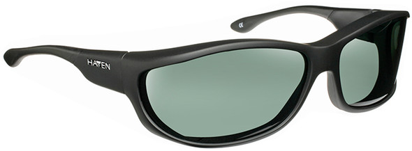 Haven Foxen OTG Sunglasses with Black Frame and Gray Polarized Lens