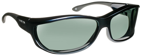 Haven Foxen OTG Sunglasses with Midnight Blue Frame and Gray Polarized Lens