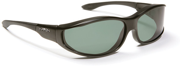 Haven Tolosa OTG Sunglasses with Black Frame and Gray Polarized Lens