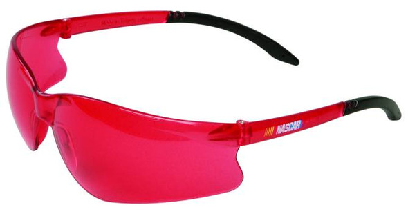 NASCAR GT Safety Glasses with Vermillion Lens