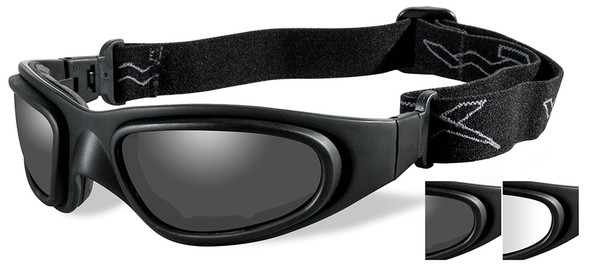 Clear Wiley X SG-1 Durable Impact Resistant Replacement Goggle Lenses