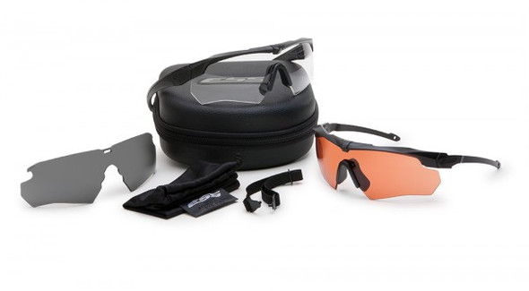 ESS Crossbow Suppressor 2X+ Kit with Black Frames and Clear, Gray and HD Copper Lenses