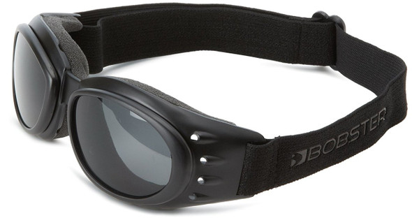 Bobster Cruiser 2 Motorcycle Goggles with Black Frame and 3 Lens Package