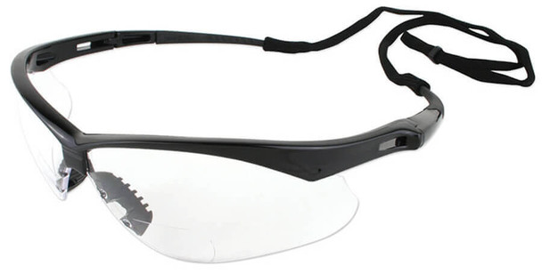 KleenGuard Nemesis Rx Bifocal Safety Glasses With Clear Lens