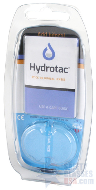 Optx 20/20 Hydrotac Stick On Bifocal Lenses Package Back